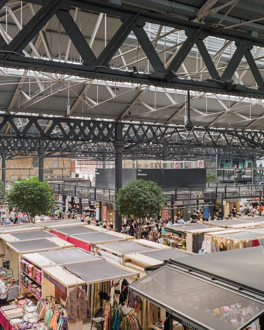 Dinerama Shoreditch: London's Best Indoor Food Halls And Markets • Napita