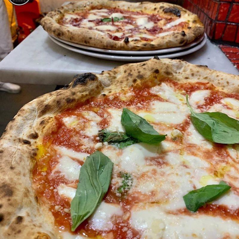 Pizza at 50 Kalo di Ciro Salvo restaurant